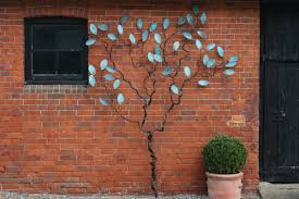 espalier tree wall sculpture mark reed sculpture