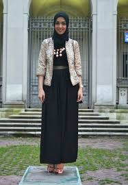 blazer wanita muslimah modern model baju batik muslim modern untuk wanita berhijab gayadanmode