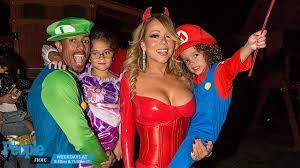 mariah carey celebrates halloween with nick cannon kids