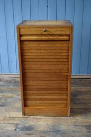 Vintage Oak Filing Cabinet Vintage Antique Light Oak Tambour Filing Cabinet Delivery