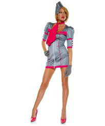 Halloween Flight Attendant Costume Swanky Stewardess Costume Costume Halloween Costume