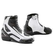 women s street motorcycle boots forma axel white mens womens street road motorcycle boots ebay