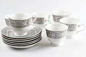 tea cup set trendcart bone china tea set classic tea cup set with floral