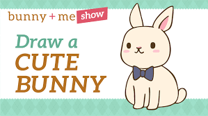 how to draw a bunny easy kawaii drawing tutorial for beginners