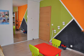 jeux de decoration de salon et de chambre décoration chambre orange et vert chaios com
