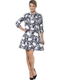 Skeleton Costume Halloween by Ladies Skeleton Suit 43461 Fancy Dress Ball