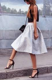 37 best mid length and midi skirts images on pinterest denim