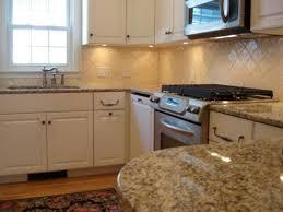 Beautiful Tumbled Marble Tile Backsplash Gallery Home Design - Ceramic tile backsplash