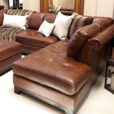 venezia leather sectional and ottoman leather couch with ottoman leather sectional with right facing