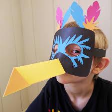 printable toucan mask for kids
