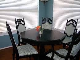 Black Kitchen Table On Awesome Black Kitchen Tables Home Design - Painting kitchen table