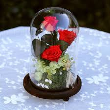 wholesale fresh flowers zipi glasses cover preserved fresh flower wedding decoration