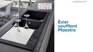 Evier Ceramique Castorama by Evier 2 Bacs Noir Evier En Cramique Bacs Villeroy U Boch Noir