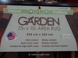 Outdoor Carpet Costco by Orian Indoor Outdoor Garden Area Rug