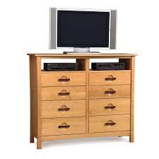 Bedroom Dresser Tv Stand Handmade Berkeley 8 Drawer Dresser Tv Stand Made In Usa