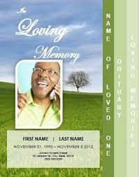 free funeral brochure templates online 10 best funeral images on
