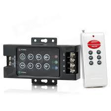 fry s led light strips 3 way 8 key rf remote controller for rgb led light strip black