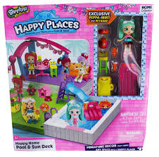 Happy Home Decor Happy Places Shopkins Pool Playset Walmart Com