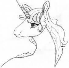 the last unicorn coloring pages last unicorn sketch by spat856
