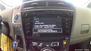 how to operate a toyota navigation system youtube