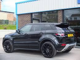 land rover evoque black used land rover range rover evoque 2 2 sd4 dynamic 5 door auto