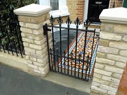 10 best brick and iron fence images on pinterest fence ideas