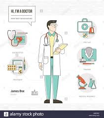 Curriculum Vitae Medical Doctor Professional Doctor Infographic Skills Resume With Tools Medical