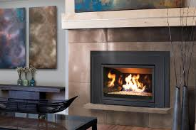 Contemporary Gas Fireplace Insert by Russo Products Gas And Wood Fireplaces Fireplace Inserts And