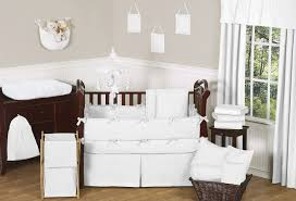 Light Grey Walls White Trim by Lovely White Nursery With Beautiful Design Homesfeed