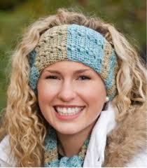 winter headbands cozy winter headband free crochet pattern favecrafts