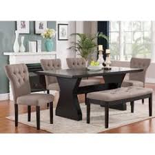 bench style dining table