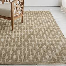 Crate And Barrel Indoor Outdoor Rugs Aldo Ii Flax Beige Indoor Outdoor Rug Crate And Barrel