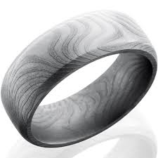 beveled ring beveled twist pattern damascus steel ring titanium buzz