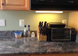 clear led lights under kitchen cabinets with brown