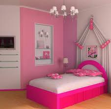 simple pikn barbie themed teen bedroom design decorating