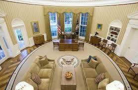 President Obama In The Oval Office President Obama U0027s Redecorated Oval Office Oval Office Obama