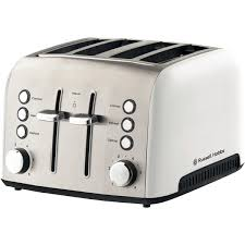 Delonghi Icona Toaster Silver 4 Slice Toasters The Good Guys