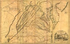Map Of Counties In Pa Mapping The Great Wagon Road North Carolina Digital History