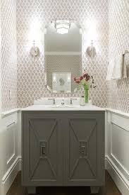 Powder Room Powell Ohio - tiny powder room cottage bathroom giannetti home