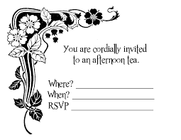 6 best images of blank party invitation cards templates blank