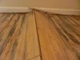 flooring damage werd