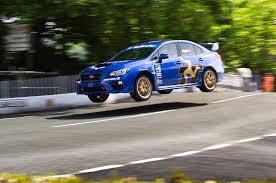 subaru wrc 2015 2015 subaru wrx sti breaks isle of man record again automobile