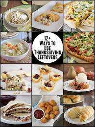 12 ways to use thanksgiving leftovers on www tasteandtellblog