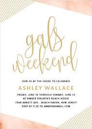 party invitations bachelorette party invitations 15 designs