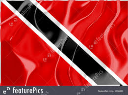 Flag For Trinidad And Tobago Illustration Of Flag Of Trinidad And Tobago