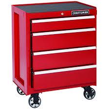 deal craftsman 4 drawer ball bearing rolling storage cabinet