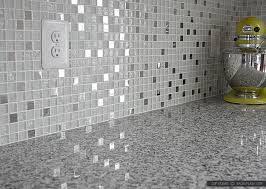 White Glass Backsplash by White Glass Metal Backsplash Tile Luna Pearl Backsplash Com