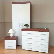 White Gloss Bedroom Furniture Sets Bedroom Bedroom Furniture Set White Walnut Wardrobe 44 Drawer
