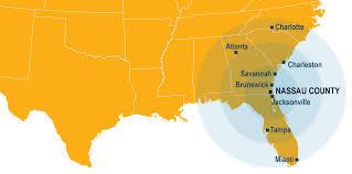 Orange County Florida Map by Nassau County Nassau Florida Economic Development
