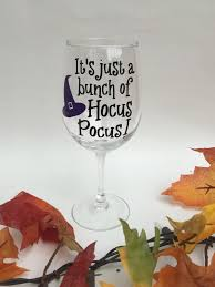 witch home decor decoration wine glass bling candy corn most beloved home decor